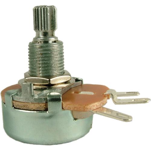 Potentiometer - 100Ω, Linear, Knurled Shaft, 5W, Wirewound, 24mm image 1