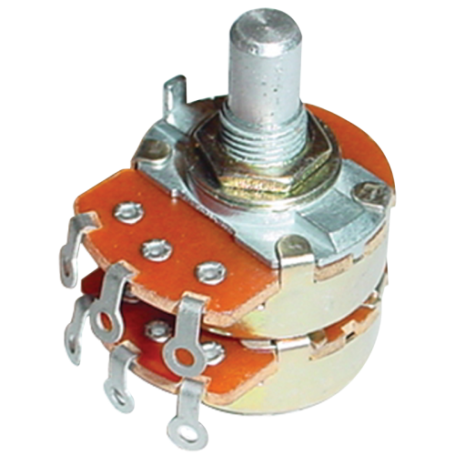 Potentiometer - Alpha, Audio, Dual image 1