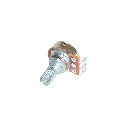 "Potentiometer - 300K Linear, 16mm, ¼"" Knurled, Push-On image 1"