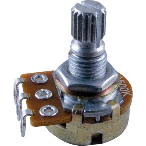 Potentiometer - Alpha, Audio, Knurled Shaft, 16mm image 1