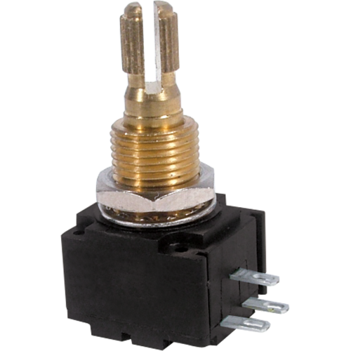 Potentiometer - Bourns, Audio, Knurled Shaft, 24mm image 1