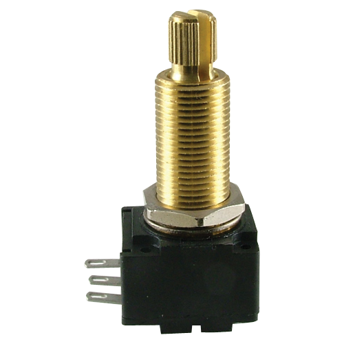 "Potentiometer - Bourns, Audio, Knurled Shaft, 3/4"" Bushing image 1"