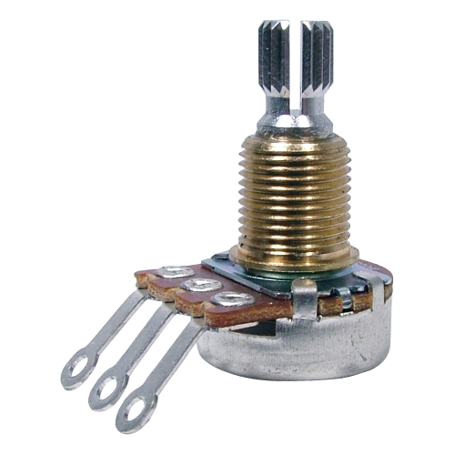 Potentiometer - Bourns, Audio, Knurled Shaft, Mini image 1