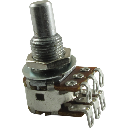 Potentiometer - Bourns, Dual MN Taper, Solid Shaft image 1