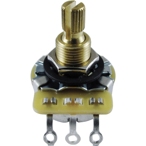 Potentiometer, CTS - Metal Knurled Shaft, Audio, 250k/500k image 1