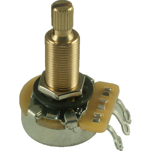 """Potentiometer - CTS, 500K, Audio, Knurled Shaft, 3/4"""" Bushing image 1"""