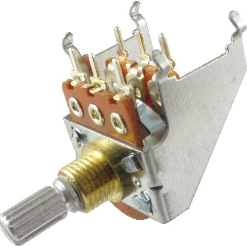 Potentiometer - Peavey, 100K, Dual, w/ Bracket image 1