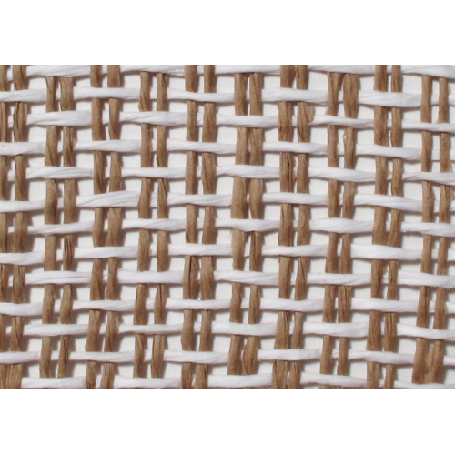 "Grill Cloth, Basket Weave, Natural White Weave, 42"" Wide image 1"