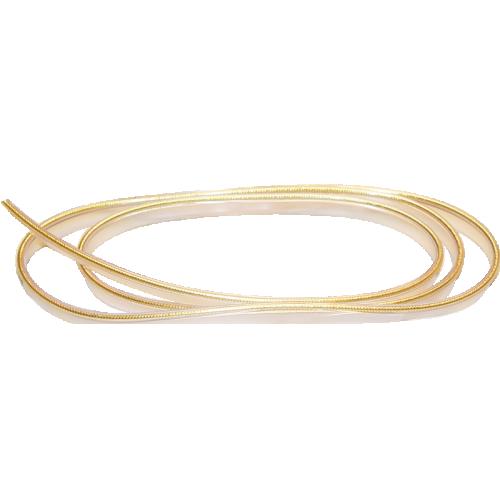 Piping - Original Marshall, Gold, Thick, Sold per foot image 1