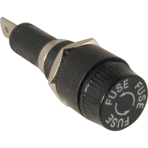 Fuse Holder - High Quality, used with 3AG-type fuses image 1