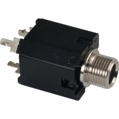"""Jack - Fender®, 1/4"""", 3-Pin, PC Mount image 1"""