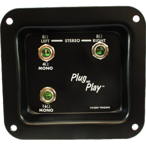 Jack Plate - Plug and Play, Mono/Stereo image 1