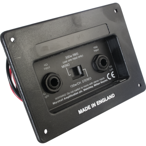 Jack Plate - Marshall, Switchable Stereo/Mono image 1