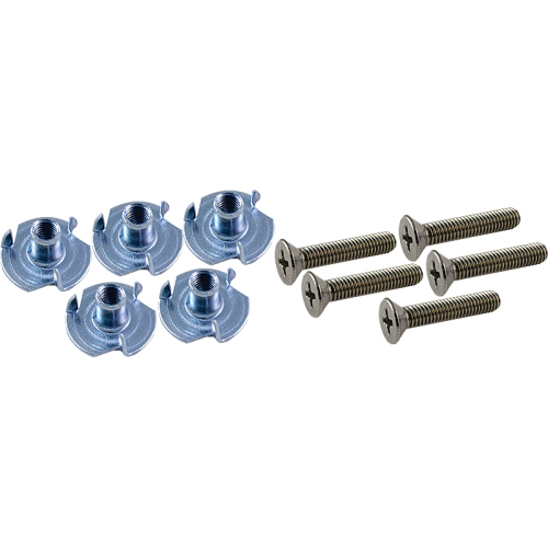 Hardware - Fender, Screws & T-Nuts for Handle image 1