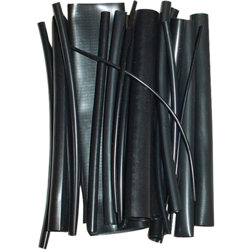 "Heat Shrink - Assorted diameters, 6"" long, 23 pieces image 1"