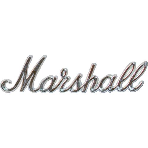 "Logo - Marshall, Gold Script, 6"" image 1"