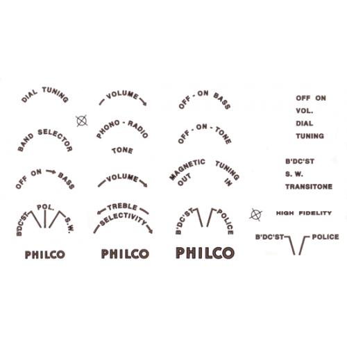 Decal - Philco image 1