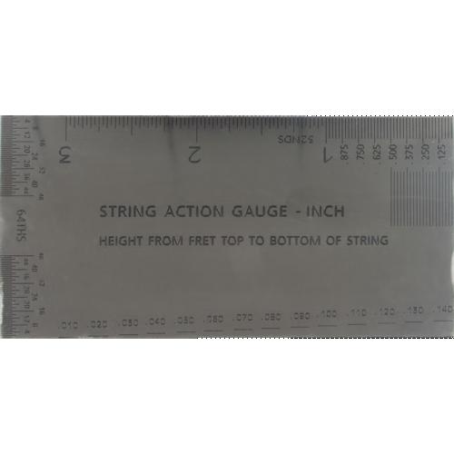 String Action Gauge - Inch Version image 1