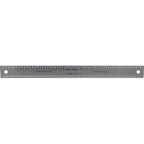 String Spacing Ruler - Steel image 1