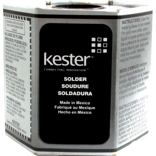 Solder - Kester 44, 1 lb spool image 1