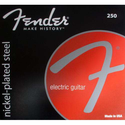 Guitar strings, Fender® nickel-plated steel, ball end, .010-.046 image 1