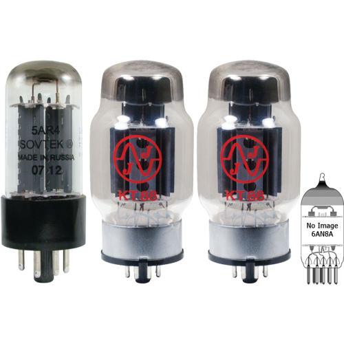 Tube Set - for Dynakit Mark III Mono Amplifier, version 1 image 1