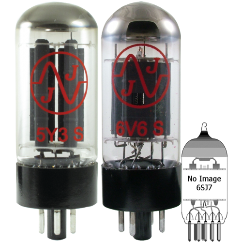 Tube Complement for Gibson Les Paul TV image 1