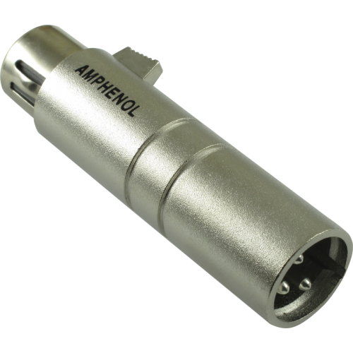 XLR Adapter - Amphenol, 3-Pole Female To Male image 1