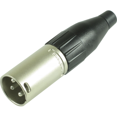 XLR Plug - Amphenol, 3-Pole, Large, Nickel image 1