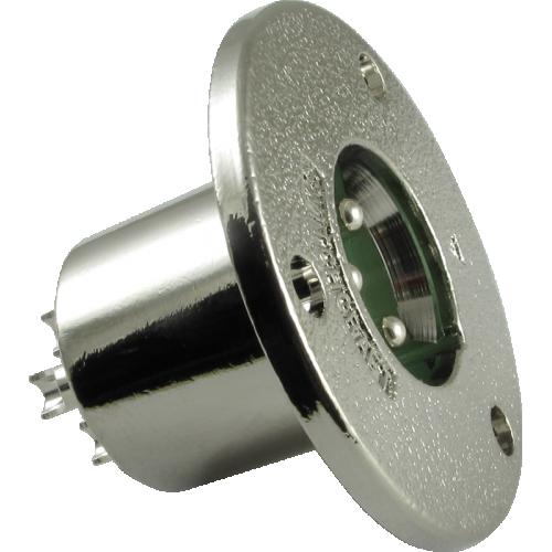 XLR Jack - Switchcraft, 3-Pin, Circular Panel Mount, Type C3M image 1
