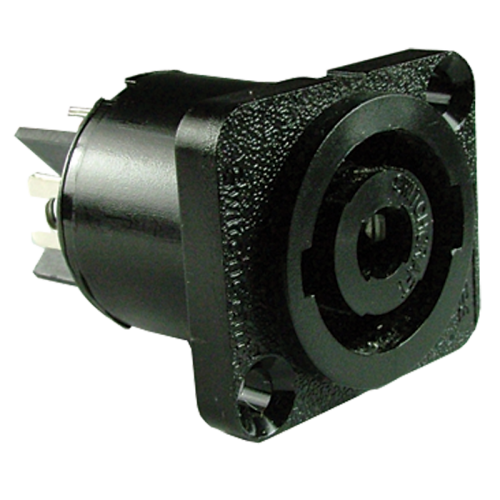 HPC Locking Panel Mount Receptacle, Equivalent To SpeakON (Type HPCP41F), Switchcraft image 1