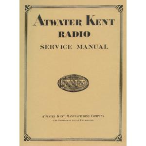 Atwater Kent Radio Service Manual