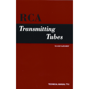 RCA Transmitting Tube Manual TT-5