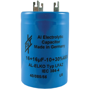 Capacitor - F&T, Multi-Section, Electrolytic