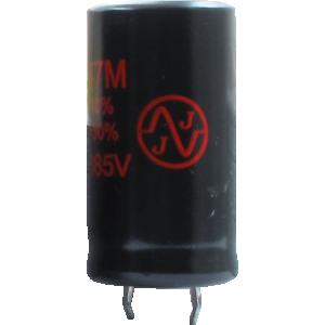 Capacitor - JJ Electronics, 385V, 47µF, Electrolytic