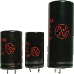 Capacitor - JJ Electronics, 500V, 500µF, Electrolytic