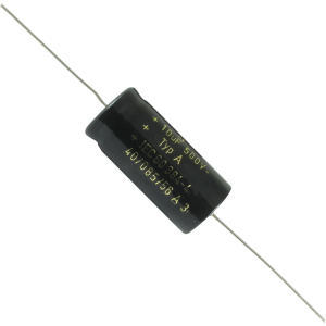 Capacitor - F&T, 500V, Axial Lead