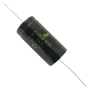 Capacitor - F&T, 300V, 220µF, Electrolytic