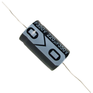 Capacitor - Electrolytic, 220 µF @ 350 VDC