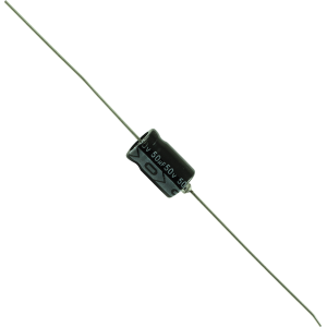 Capacitor - 50V, Axial Lead Electrolytic
