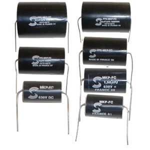 "Capacitor - Solen, 630V, Metalized Polypropylene, ""Fast"""