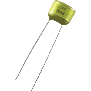 Capacitor - 50V, 0.1µF, Used In Pedal Kits
