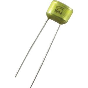 Capacitor - 0.10 µF, 50V used in Pedal Kits