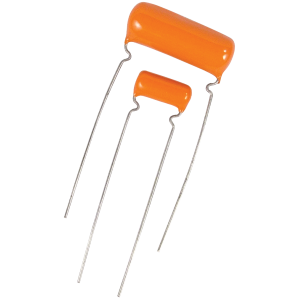 Capacitors, Orange Drop, Type PS, Polyester, 600V , .0012µF - .022µF