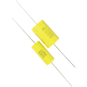 Capacitor - 630V, Metal Film, Tubular