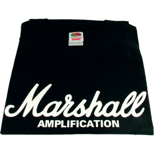 Shirt - Black with Marshall Logo