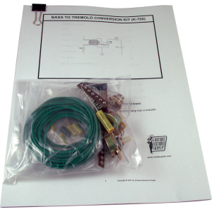 Amp Mod Kit - MOD® Kits, Bass to Tremolo Conversion Kit