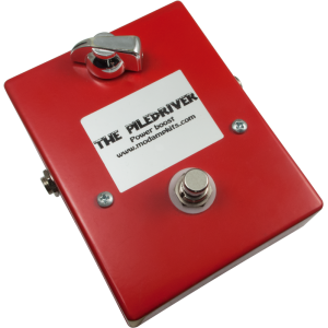 "Kit - ""The Piledriver"" Power Boost Effects Pedal, Mod Kits DIY"
