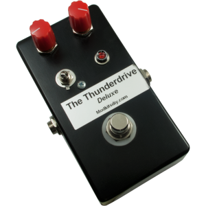 "Kit - ""The Thunderdrive Deluxe"" Overdrive Pedal, Mod Kits DIY"