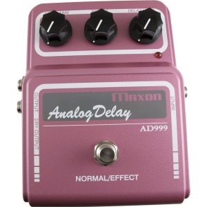 Effects Pedal - Maxon, Vintage, AD999, Analog Delay